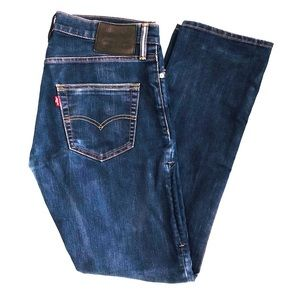 Levi's 504 Straight Stretch Jeans